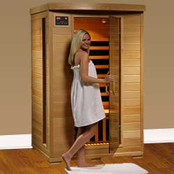 Coronado Ultra 2 Person Carbon Infrared Home Sauna