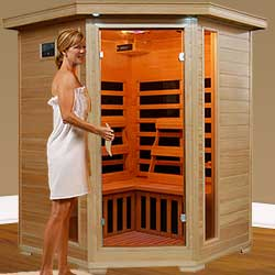 Santa Fe 3 Person Hemlock Sauna
