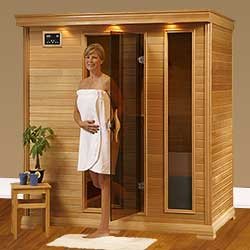 Monticello Ultra 4 Person Ceramic Infrared Home Sauna