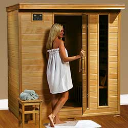 Monticello Ultra 4 Person Carbon Infrared Home Sauna
