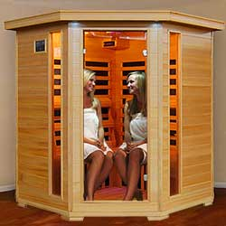 Tuscon Ultra 4 Person Carbon Infrared Home Sauna