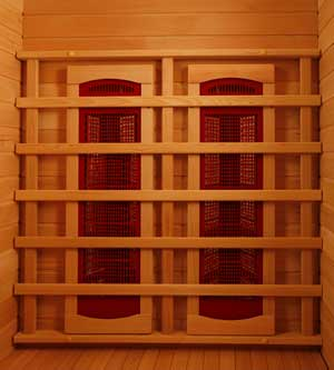 Perfect heat coronado ultra 2 person ceramic infrared home for Build your own sauna cheap