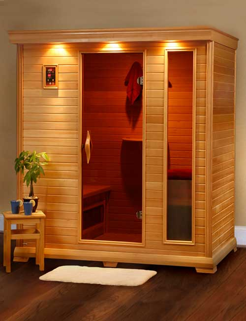 Health benefits of a home sauna backer wencel incorporated for Sauna home