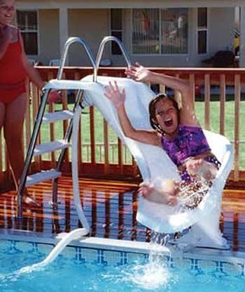 Inter Fab Zoomerang 3 39 Swimming Pool Slide