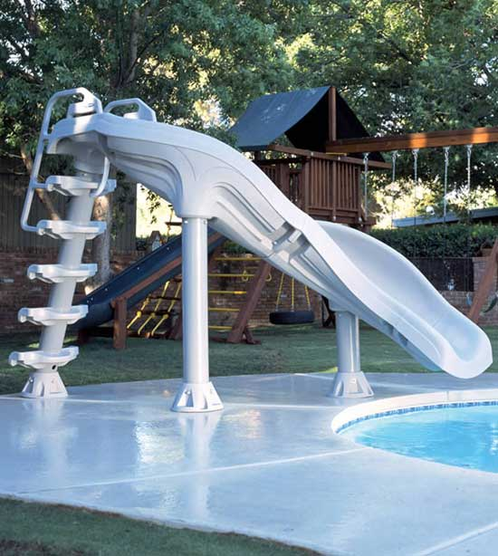 Inter Fab X Stream 2 6 6 Quot Double Turn Swimming Pool Slide