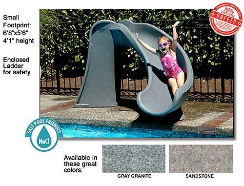 Sr Smith Cyclone 4 Swimming Pool Slide