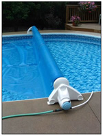 In Ground Pool Automatic Solar Blanket Reel