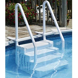 easy above ground pool steps