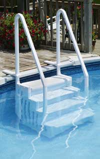 Above Ground Pool Ladders and Steps