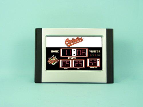 Major League Baseball Team Logo Scoreboard Alarm Clocks