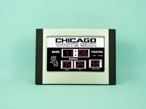 Major League Baseball Team Logo Scoreboard Alarm Clocks