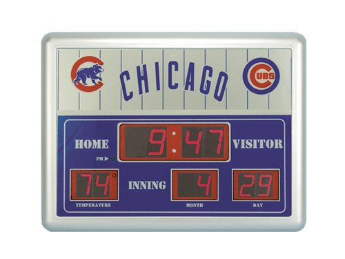 Major League Baseball Official Team Logo Scoreboard Wall
