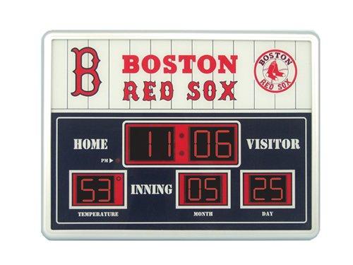 Major League Baseball Official Team Logo Scoreboard Wall ...