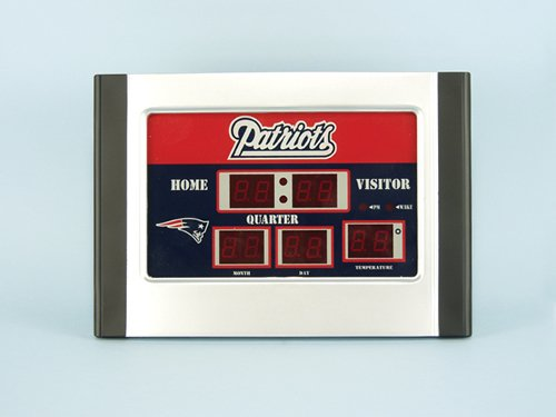 National Football League Team Logo Scoreboard Alarm Clocks