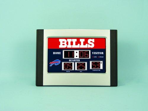 National Football League Team Logo Scoreboard Alarm Clocks
