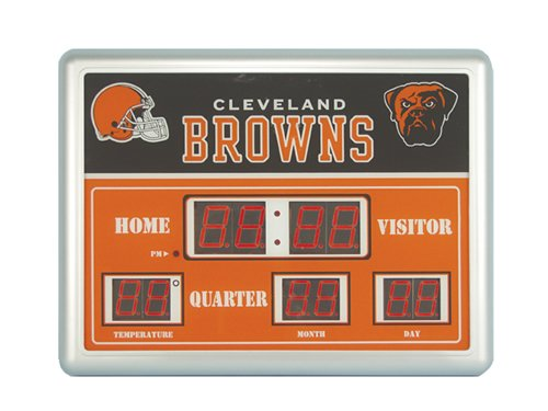 National Football League Official Team Logo Scoreboard