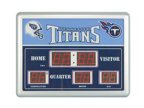 National Football League Official Team Logo Scoreboard