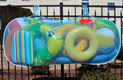 Pool Pouch Swimming Pool Toy Holder