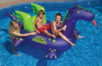 Giant Sea Dragon Ride-on Inflatable Swimming Pool Float