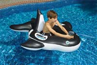 Orca Squirter Inflatable Swimming Pool Float
