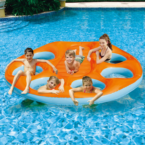 Party Island Oasis Pool Raft