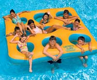 Inflatable Labyrinth Island Pool Float
