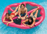 Inflatable Pizza Party Pool Float