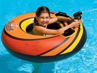 Power Blaster Squirter Swimming Pool Float Tube