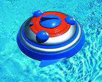 R/C UFO Spinner Squirter Boat Pool Toy