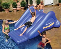 SuperSlide Inflatable Pool Slide