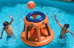 Giant Shootball Pool Basketball Float