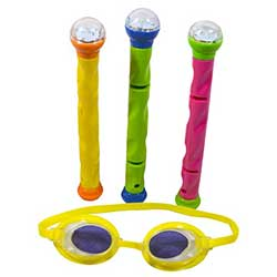 3D Action LED Dive Sticks