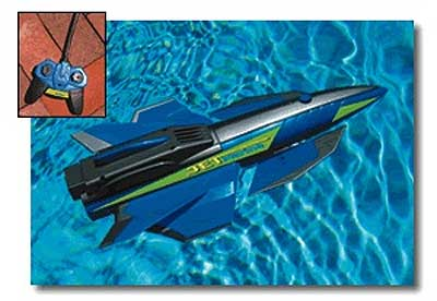 Jet Marine Remote Control Boat Pool Toy With Diving Action