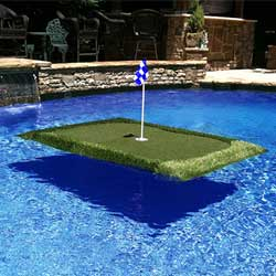 Pro Tour Floating Golf Green