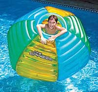 The Sphere Inflatable Swimming Pool Float