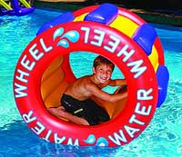 Water Wheel Inflatable Swimming Pool Float