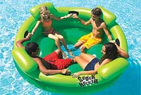 Shock Rocker Inflatable Float