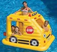 Pool Bus Inflatable Swimming Pool Float