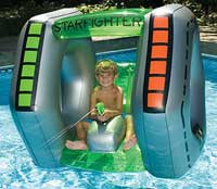Starfighter Squirter Inflatable Swimming Pool Float