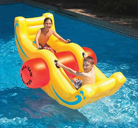 Big Sea Saw Rocker Inflatable