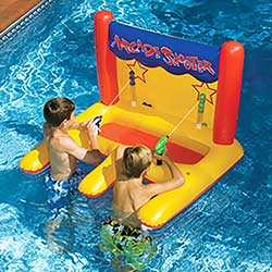 Arcade Shooter Inflatable Swimming Pool Float