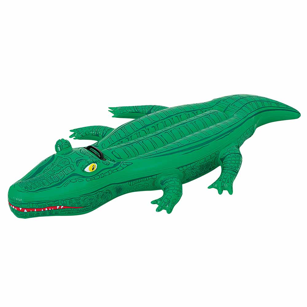 Crocodile inflatable ride on pool toy - Toys r us swimming pools for kids ...