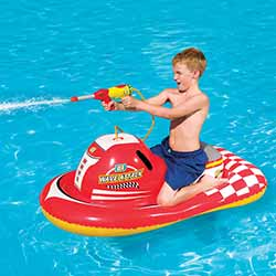 Wave Attack Inflatable Ride-On Pool Toy