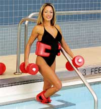 AquaFit Swimming Pool Exercise Kit