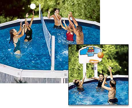 Pool Volley Ball