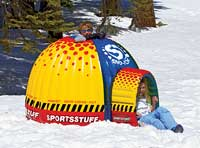 Sno Fort Inflatable Igloo Hideout