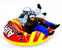 Air Flyer 2 Person Inflatable Downhill Snow Tube