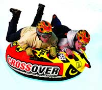 Super Crossover All Season Inflatable Snow and Water Tube